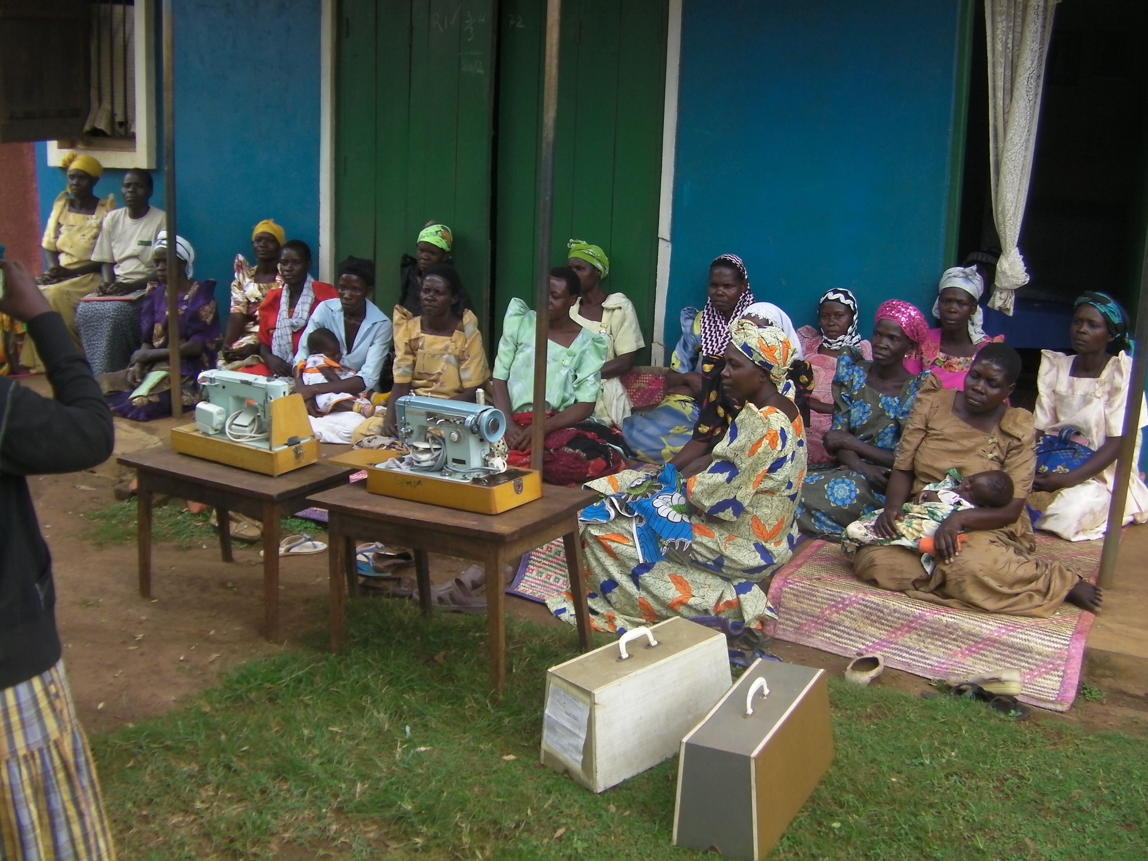 Kisa Kya Murama Women's group: This group is 5 years old and has 40 members.  They received 2 brother electric Zig Zag machines during the pilot and are using them to train up their members in tailoring skills.